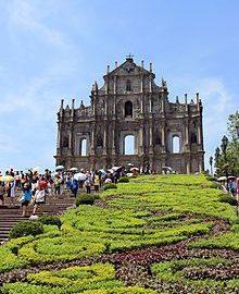 Ruins of St.Paul's