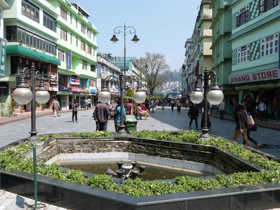 MG Road Gangtok