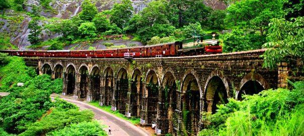 Sencottai Railway Bridge