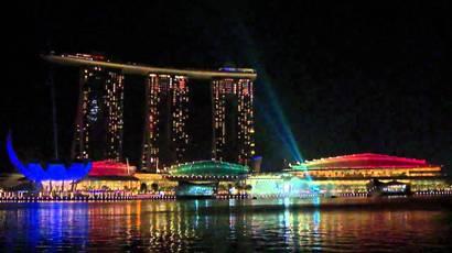 Marina Bay Sands Light and Sound Show