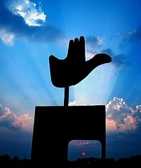 https://upload.wikimedia.org/wikipedia/commons/thumb/a/a0/Open_Hand_Monument_in_Chandigarh.jpg/201px-Open_Hand_Monument_in_Chandigarh.jpg