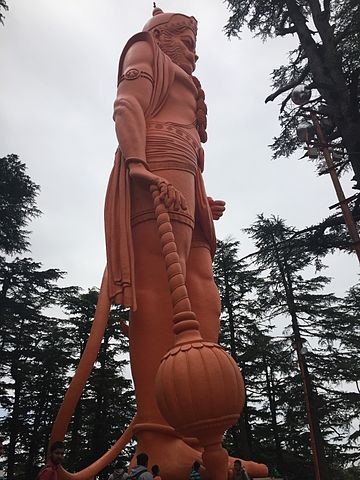 https://upload.wikimedia.org/wikipedia/commons/thumb/9/9e/Jhakoo_Temple_Hanuman.jpg/360px-Jhakoo_Temple_Hanuman.jpg
