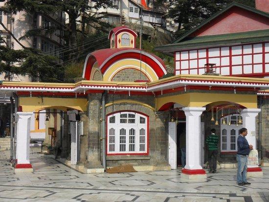 Image result for kalibari temple shimla
