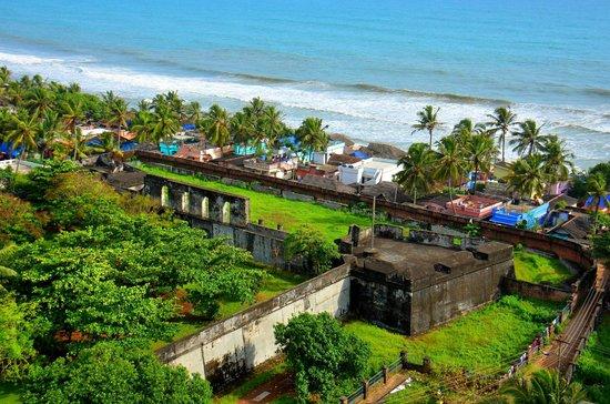 Image result for anchuthengu fort