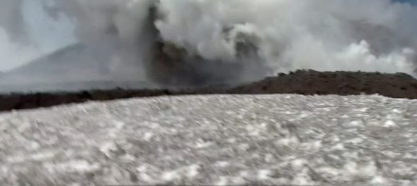 Mount Etna Volcanos