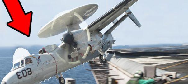 US Navy E-2C