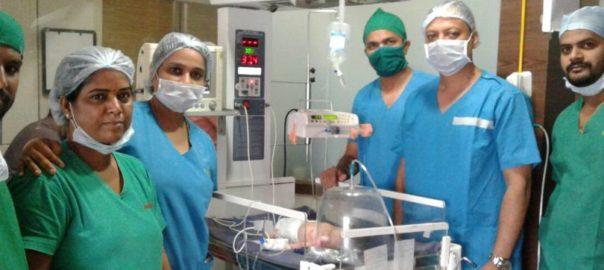 Newborn boy pregnant
