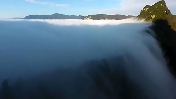 Cloud Waterfall